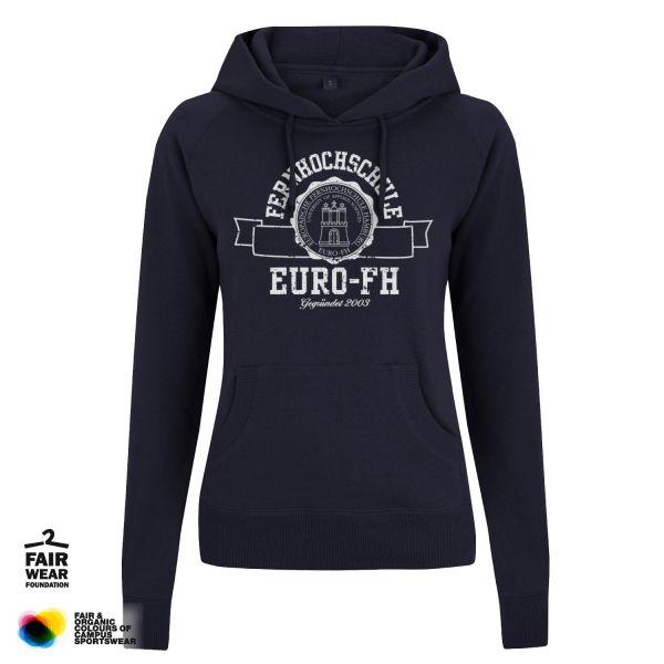 Damen Hooded Sweatshirt, navy, gap