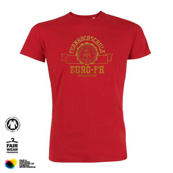 Herren T-Shirt, red, gap