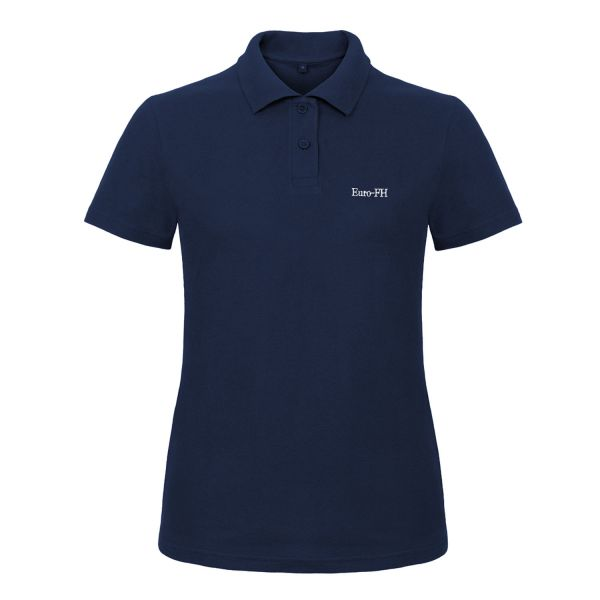 Damen Poloshirt, navy, corporate