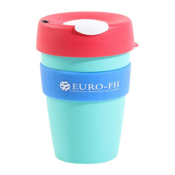 Keep Cup Medium, blue, corporate