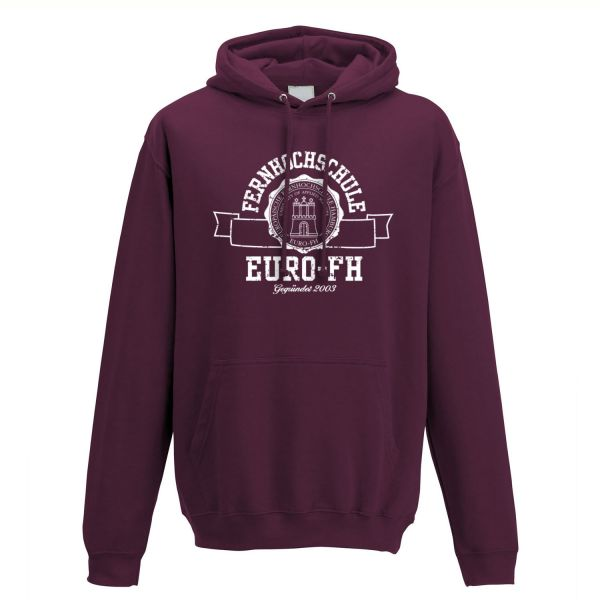 Classic Hooded Sweatshirt, burgundy, gap