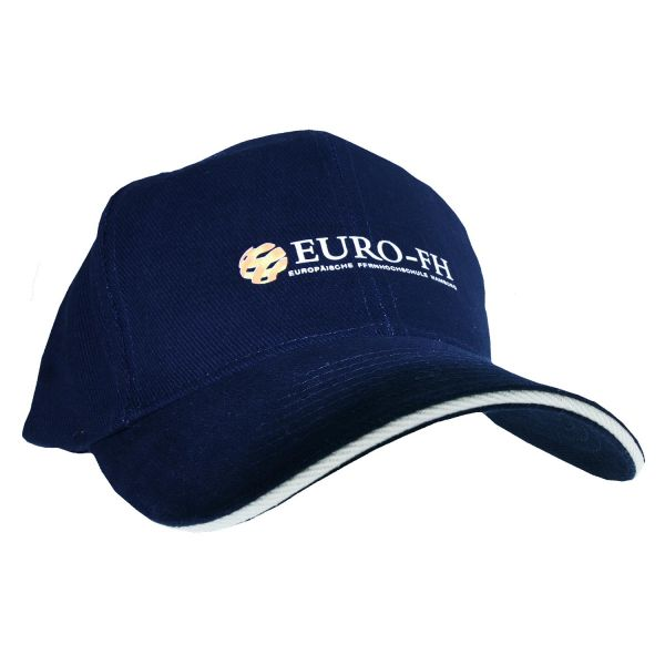 Cap, navy, corporate
